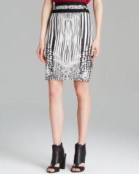 Rachel Roy - Mixed Print Pencil Skirt - Lyst