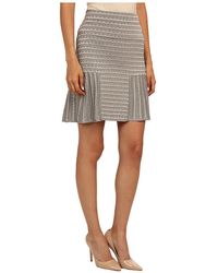 M Missoni Lurex Scallop Knit Skirt - Lyst