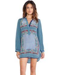 Tolani Blue Ellie Dress - Lyst