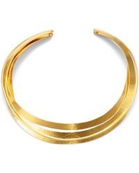 Herve Van Der Straeten | Sculpted Collar Necklace | Lyst
