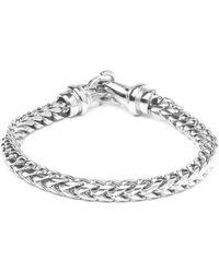 Vitaly - Kusari X Stainless Steel Bracelet - Silver - Lyst