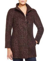Anne Klein - Boucle Swing Coat - Compare At $360 - Lyst