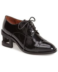 Jeffrey Campbell 'Sheldon' Leather Oxford - Lyst