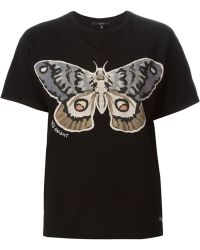 Gucci Black Butterfly T-Shirt - Lyst