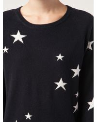 Chinti And Parker Star Print Sweater - Lyst