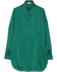 Vionnet Silk Shirt - Lyst