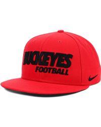 Nike Ohio State Buckeyes Snapback Cap - Lyst