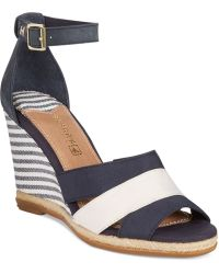 Sperry Top-Sider - Sperry Skye Wedge Sandals - Lyst