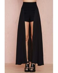 Nasty Gal Over It Shorts - Lyst