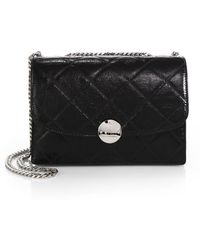 Marc Jacobs Quilted-Leather Trouble Shoulder Bag - Lyst