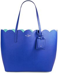 Kate Spade Carrigan Saffiano Leather Tote - Lyst