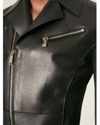 DSquared2 Fitted Biker Jacket - Lyst