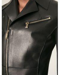 DSquared² Cropped Biker Jacket - Lyst