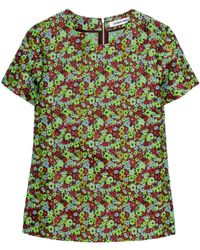 Elizabeth And James Floraljacquard Top - Lyst