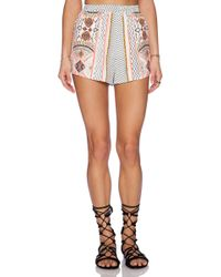 MINKPINK Space Cowboys Short - Lyst