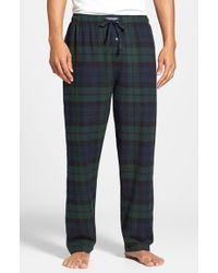 Polo Ralph Lauren Men'S Big & Tall Flannel Pajama Pants - Lyst