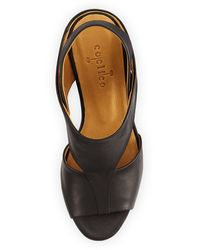 Coclico Jaquen Leather Slingback Sandal Black - Lyst