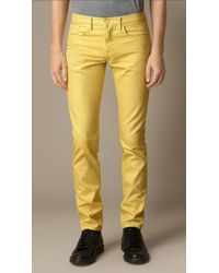 Burberry Shoreditch Sprayed Skinny Fit Jeans - Lyst