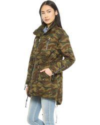 Textile Elizabeth and James - Johnnie Parka - Military Green - Lyst
