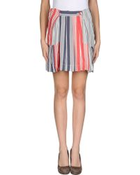 Vivienne Westwood Anglomania Mini Skirt - Lyst