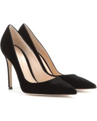 Gianvito Rossi Mytheresa.Com Exclusive Velvet Pumps - Lyst