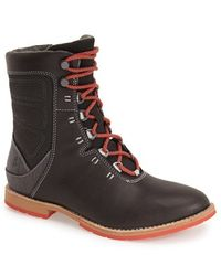 Ahnu - 'chenery' Water Resistant Boot - Lyst