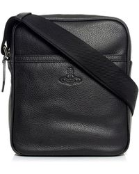 Vivienne Westwood | Leather Flight Bag | Lyst
