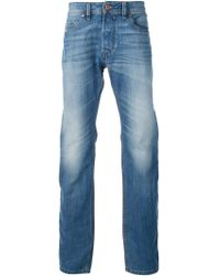 Diesel Worn Effect Jeans - Lyst
