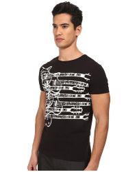 Costume National Printed T-Shirt - Lyst