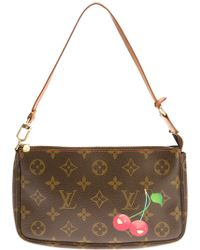 Louis Vuitton Cherry Print Clutch - Lyst