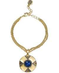 House of Harlow 1960 - Dorelia Coin Charm Bracelet - Lyst