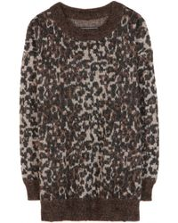 By Malene Birger Ewaca Mohair and Alpacablend Sweater - Lyst