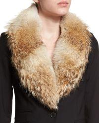Veronica Beard - Fur Collar Accessory - Lyst