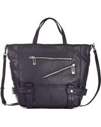 Sanctuary - Magazine Leather Tote Bag - Lyst