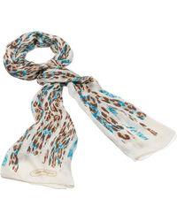 Ferragamo Leopard Print Stole - Lyst
