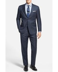 Hart Schaffner Marx 'New York' Classic Fit Wool Suit - Lyst
