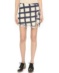 Twelfth Street Cynthia Vincent - Mini Wrap Skirt - Paintbox Print - Lyst