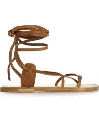 Isabel Marant Amy Leather Sandals - Lyst