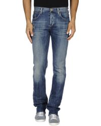 Citizens of Humanity Denim Pants blue - Lyst