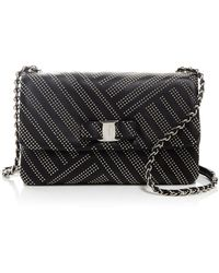 ... Ferragamo - Gelly Medium Stud Shoulder Bag - Lyst new product 648d4  3e328 ... 9f48c7113f241