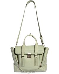 3.1 Phillip Lim Pashli Medium Satchel in Sage - Lyst