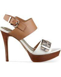 Marc Fisher Stacie Platform Sandals - Lyst