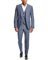 Hugo Adanz/Weyll/Hamen | Slim Fit, Virgin Wool 3-Piece Suit - Lyst