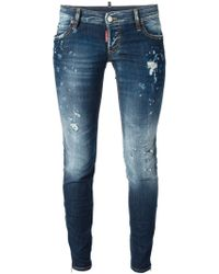 DSquared2 'Super Slim' Jeans - Lyst
