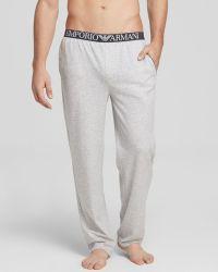 Emporio Armani Lounge Pants - Lyst