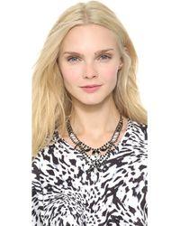 Tom Binns - Dumont Pearl Noir Tiered Necklace - Lyst