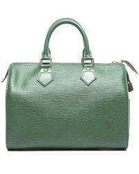 Louis Vuitton Preowned Boreno Green Epi Leather Speedy 25 Bag - Lyst