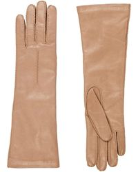 Barneys New York | Whipstitched Nappa Leather Gloves | Lyst