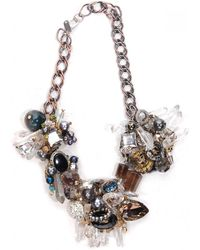 Subversive Jewelry - Crystal Wreath Necklace - Lyst