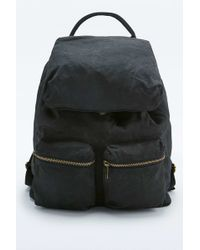 Urban Outfitters - Black Canvas Backpack - Lyst